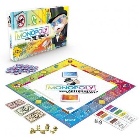 Imagine 2Joc de Societate Monopoly pentru Millennials in Limba Romana