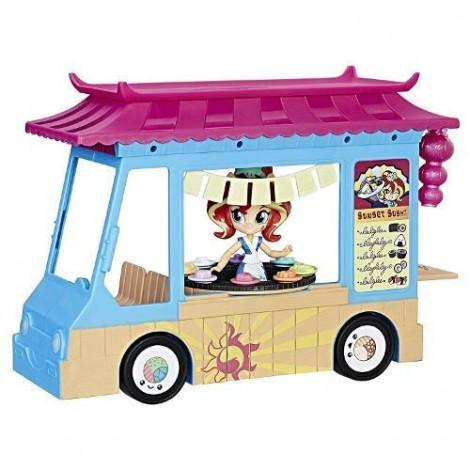Imagine 1My Little Pony Equestria Girls - Camionul cu Sushi