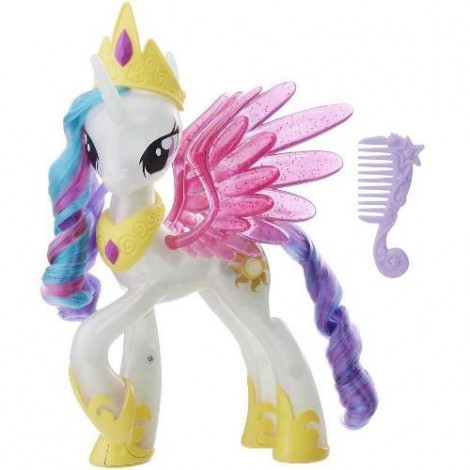 Imagine 1My Little Pony the Movie Glitter and Glow Princess Celestia