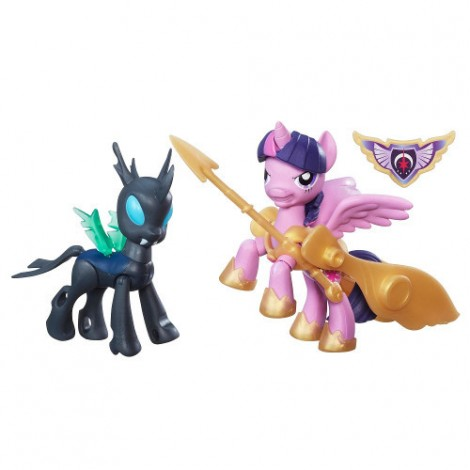 Imagine 2My Little Pony - Twilight Sparkle si Changeling