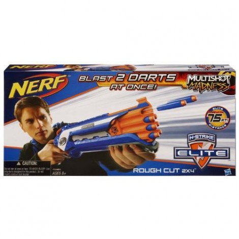 Imagine 1Nerf N-Strike Elite Rough Cut 2x4
