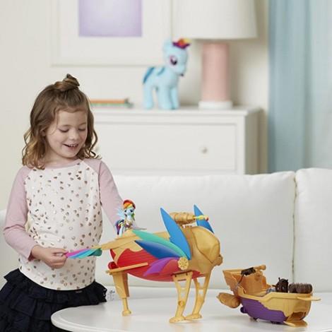 Imagine 3Set My Little Pony Corabia Aerului Swashbuckler