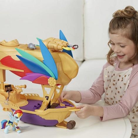 Imagine 5Set My Little Pony Corabia Aerului Swashbuckler