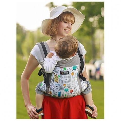 Imagine 3Marsupiu Toddler Organic Chic in Paris