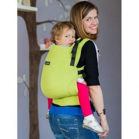 Imagine 2Marsupiu Toddler Wrap Conversion Organic Lime
