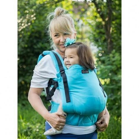 Imagine 2Marsupiu Toddler Wrap Conversion Organic Turquoise