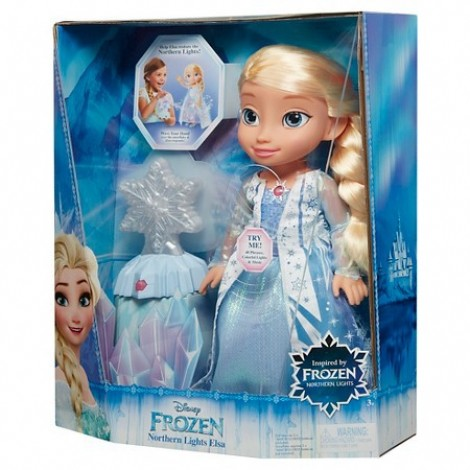 Imagine 4Papusa Elsa Luminile Nordului