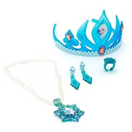 Set bijuterii si diadema Elsa