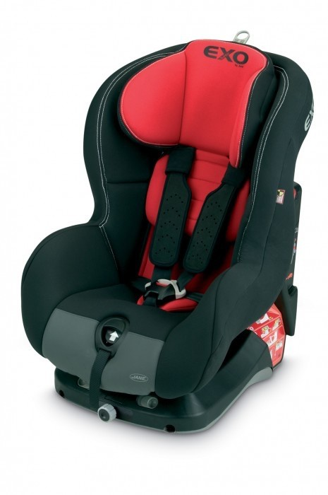 Scaun Auto Isofix Exo Basic Black/Red