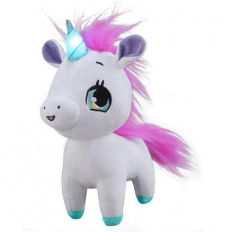 Imagine 1Jucarie Interactiva din Plus Wish Me Unicorn Roz