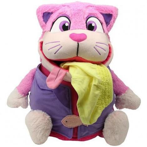 Imagine 1Mascota 2 in 1 Tummy Stuffers Pisica Roz