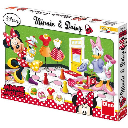 Minnie si Daisy la shopping