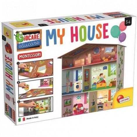 Imagine 1Joc Montessori Maxi - Casuta mea