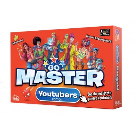 Imagine 1Joc societate GO MASTER - YOUTUBERS EDITION