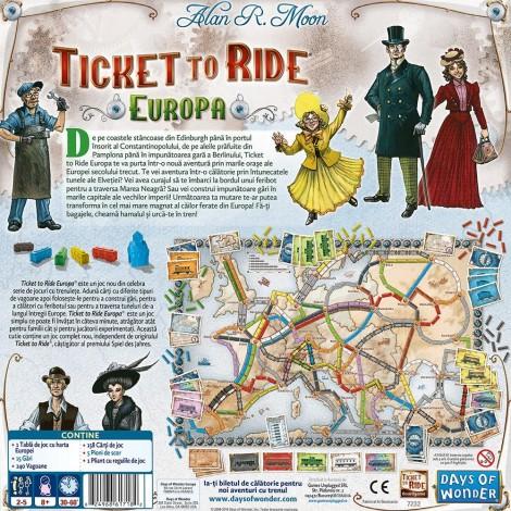 Imagine 2JOC Ticket to Ride Europe