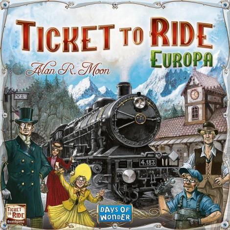 Imagine 1JOC Ticket to Ride Europe