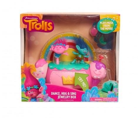Imagine 1Trolls - Cutie de bijuterii cu efecte luminoase şi sunete