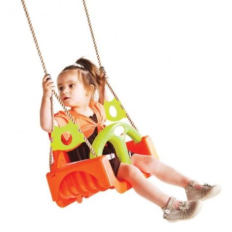 Imagine 2Leagan pentru copii Trix PP portocaliu-verde