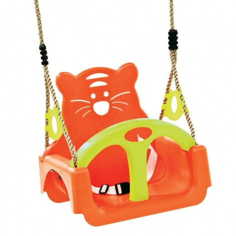 Imagine 1Leagan pentru copii Trix PP portocaliu-verde
