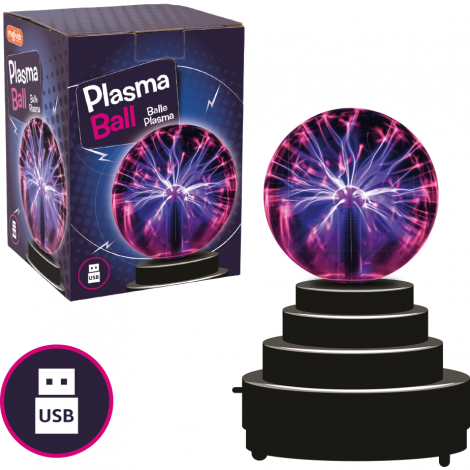 Imagine 1Jucarie interactiva - Glob cu plasma