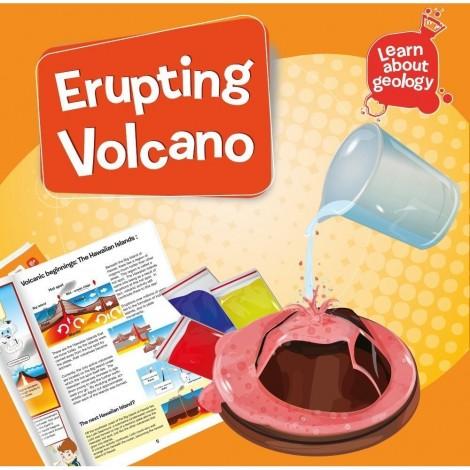 Imagine 3Set experimente - Eruptia vulcanica