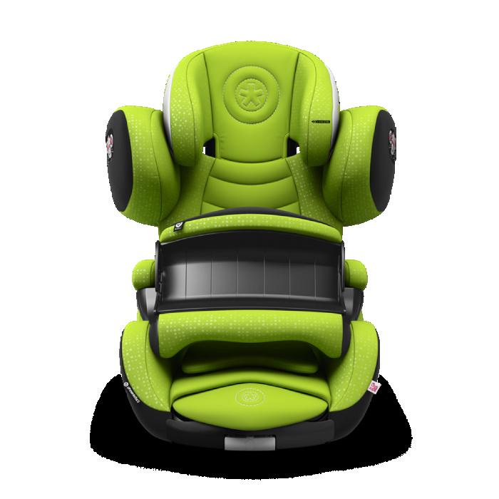 Scaun Auto PhoenixFix 3 Lime Green (ISOFIX)