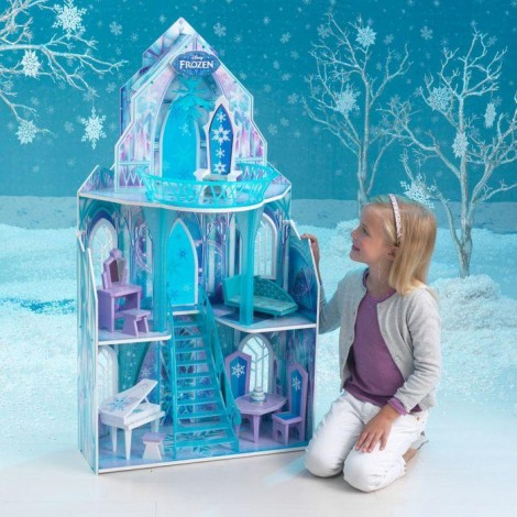 Imagine 2Casuta de papusi Castelul de Gheata Frozen