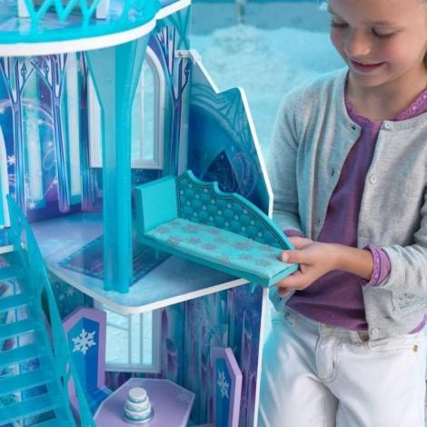 Imagine 7Casuta de papusi Castelul de Gheata Frozen