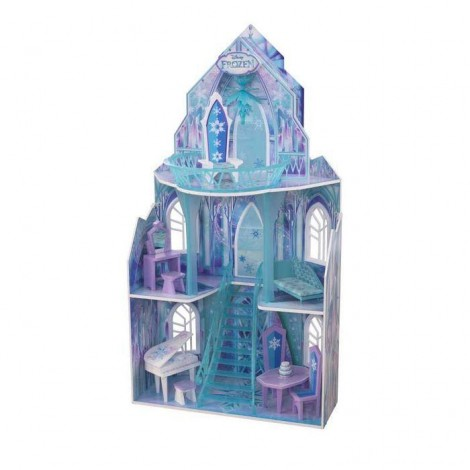 Imagine 1Casuta de papusi Castelul de Gheata Frozen