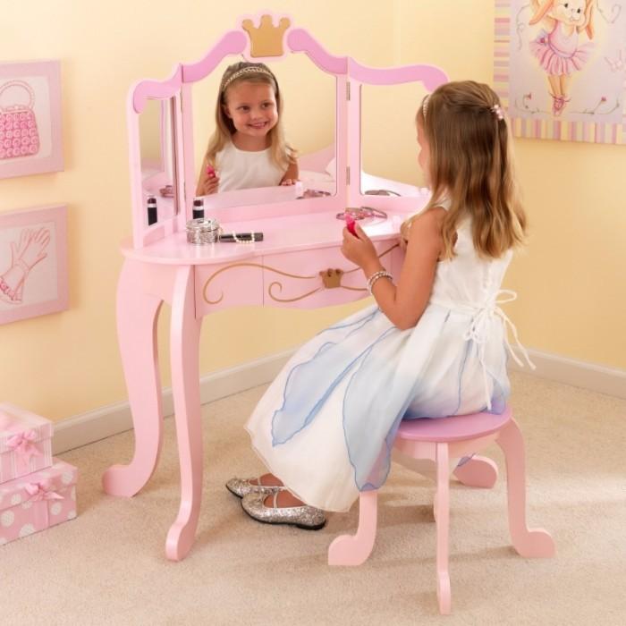 Masuta de toaleta cu scaun Princess