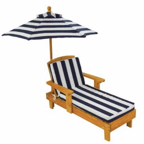 Imagine 2Sezlong Chaise cu umbrela