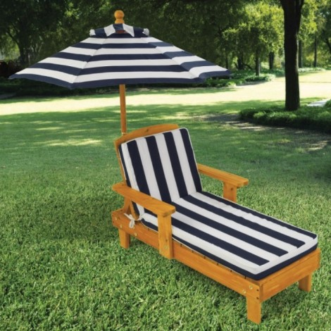 Imagine 1Sezlong Chaise cu umbrela