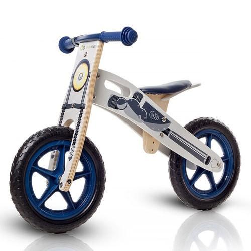 Bicicleta din Lemn fara Pedale Runner Deluxe Moto