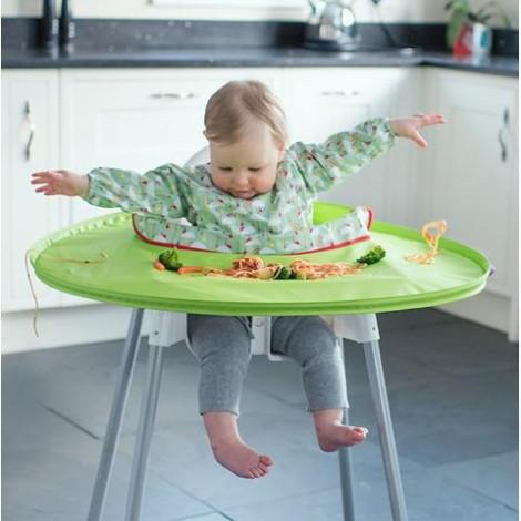 Imagine 13Kit hranire - Baveta si tava Curcubeu