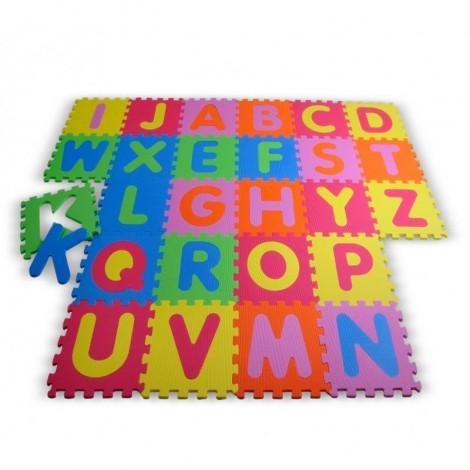 Imagine 1Covor puzzle din spuma Alphabet 26 piese