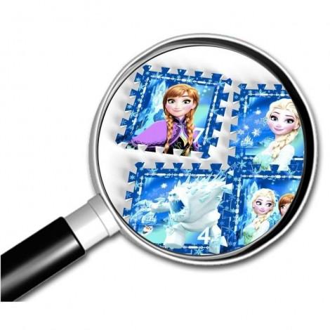 Imagine 3Covor puzzle din spuma Sotron Frozen 8 piese
