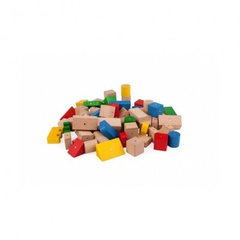Imagine 3Blocuri magnetice 50 piese Multicolore
