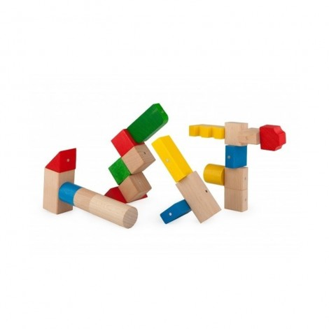 Imagine 4Blocuri magnetice 50 piese Multicolore