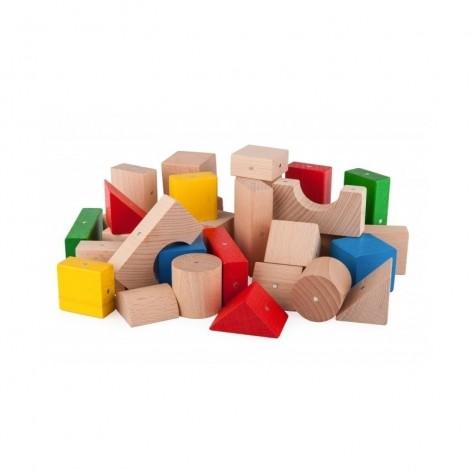 Imagine 2Blocuri magnetice 30 piese Multicolore