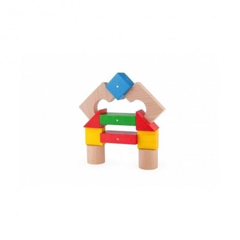 Imagine 3Blocuri magnetice 30 piese Multicolore