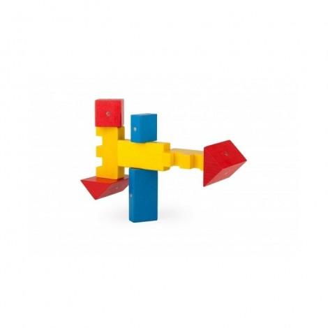 Imagine 2Blocuri magnetice 100 piese Multicolore