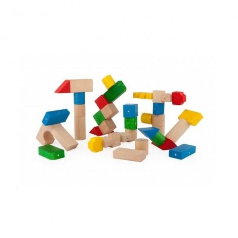 Imagine 1Blocuri magnetice 100 piese Multicolore
