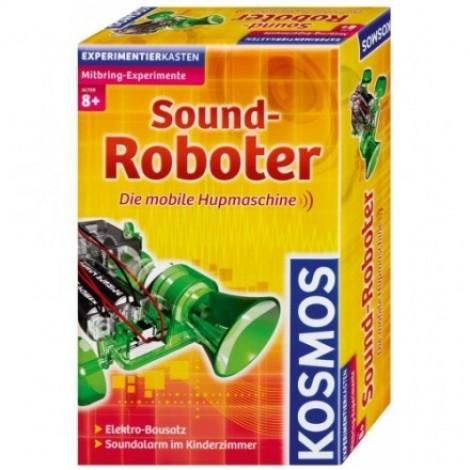 Imagine 1Experimente pentru acasă – Robot - vehicul cu claxon