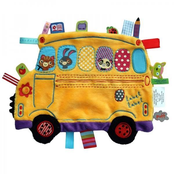 Minipaturica senzoriala Holiday - School Bus