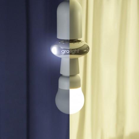 Imagine 2Lampa de veghe si Adaptor 2 in 1 - Euro 1 Edison 27 (Franceza / Germana / Engleza)