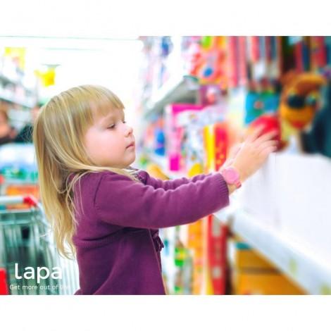 Imagine 4Bratara din silicon pentru localizator bluetooth de urmarire copii Pink