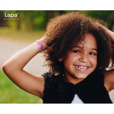 Imagine 6Bratara din silicon pentru localizator bluetooth de urmarire copii Pink
