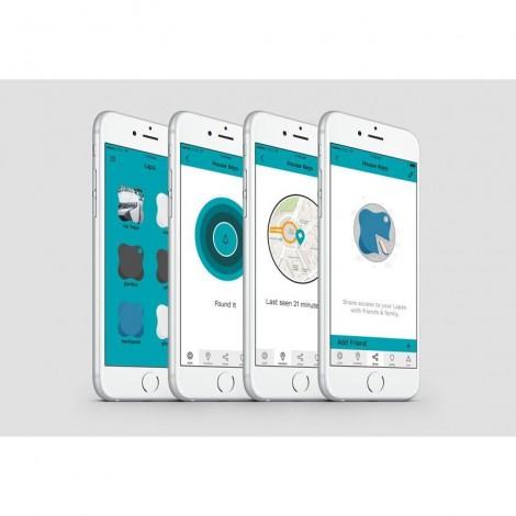 Imagine 7Bratara din silicon pentru localizator bluetooth de urmarire copii Pink