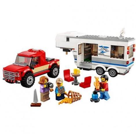 Imagine 2LEGO City Camioneta si Rulota