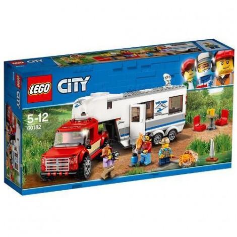 Imagine 1LEGO City Camioneta si Rulota